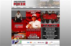 De Homepage van Amsterdams Poker